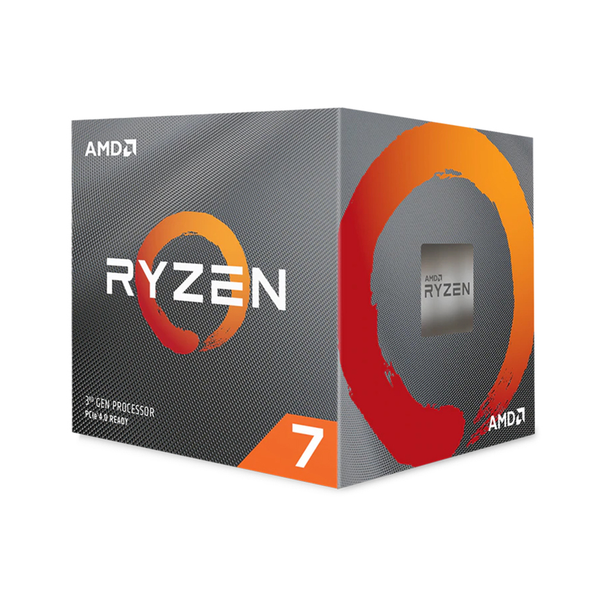 AMD Ryzen 7 3700X, with Wraith Prism cooler